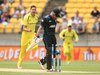 Brendon McCullum fell early after another typically-electric cameo against Australia. Photo / Getty