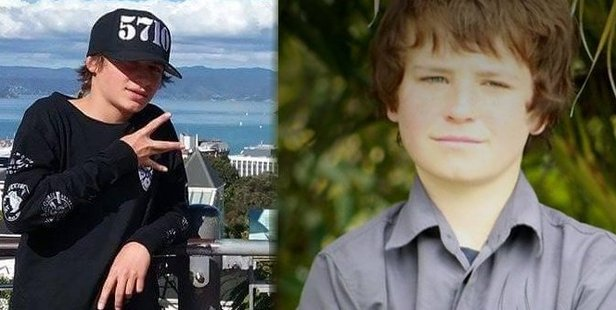 Featherston boys Hoani Korewha, left, and Pacer Willacy-Scott, both 15, died from injuries received when a stolen car was crashed during a police pursuit. PHOTOS/FACEBOOK