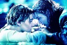 A scene from the movie Titanic starring Leonardo DiCaprio and Kate Winslet.