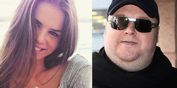 Elizabeth Donnelly and Kim Dotcom have ended their relationship. Photos / Instagram / Getty Images