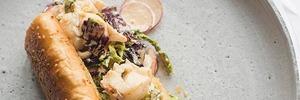 Sid Sahrawat's crayfish rolls