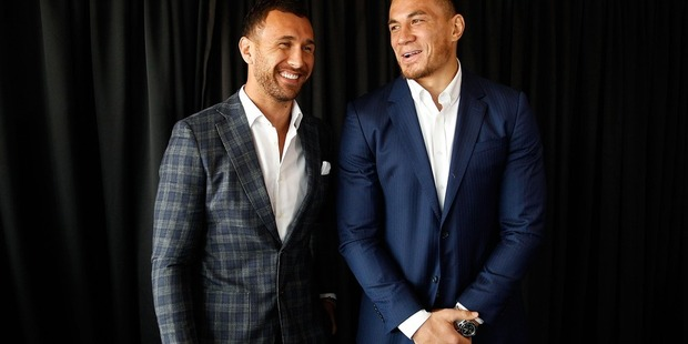 Quade Cooper revealed he had already spoken to Sonny Bill Williams, the dual international superstar who made his sevens debut for New Zealand in Wellington. Photo / Getty Images