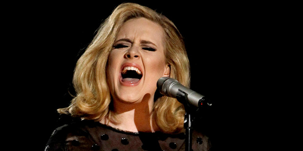 British singer, Adele. Photo / AP