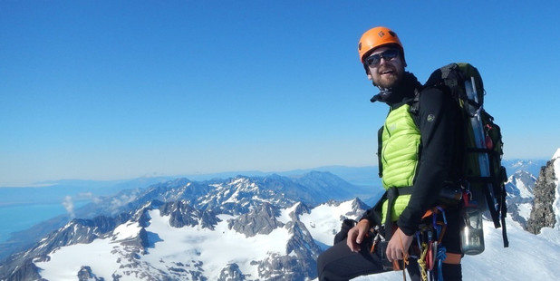 Gergo Verhas has been identified as the climber who fell to his death on Mt Rolleston. Photo / Supplied