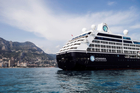 The Azamara Quest boutique cruise ship visited Auckland today for the first time. Photo / Supplied