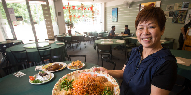 Bunga Raya co-owner Rita Lai says Aucklanders prefer eating out than dining at home during Chinese New Year. Photo / Jason Oxenham