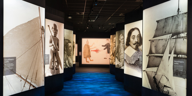 A look inside the new Waitangi museum.