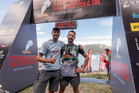 BIG GOALS: Chris Townley (right) is attempting all three distances of the Tarawera Ultramarathon. PHOTO/KURT MATTHEWS