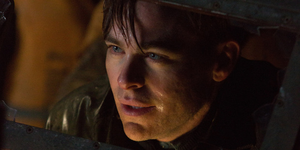 Chris Pine stars as Captain Bernie Webber in Disney's The Finest Hours, the heroic action-thriller.