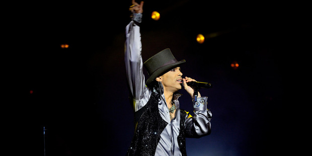 Prince has sold more than 100 million albums. Photo / AP