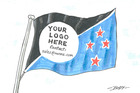 Cartoon: New TPP flag
