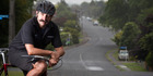 JUST RIDE: Benny Devcich welcomes the new cycleways. PHOTO/STEPHEN PARKER