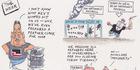 View: Cartoon: Waitangi, TPP, House prices