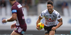 Shaun Johnson in action against Manly Sea Eagles at the NRL Nines. Photo / Brett Phibbs