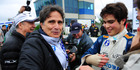 Pedro Piquet with his father Nelson Piquet. Photo / Duda Bairros