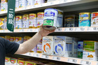 The selection of baby milk powder in China could be greatly reduced. Photo / Mark Mitchell