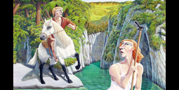 The Farmers Wife and the Farmer: A Painted New Zealand Odyssey by John McLean.