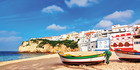 Portuguese beach villas in Carvoeiro.