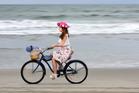 Anna Schroder from Frocks on Bikes. Photo/George Novak