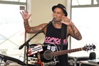 Tiki Taane released his new sound track at the Mount Mauganui Surf Club on Sunday. Photo/George Novak