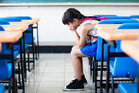 Starting a new school can be scary - not only for children - when there's a lot of homework and teachers have strict thoughts on vocabulary. (Photo posed by model.) Photo / Getty Images