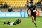 Akira Ioane was the star of the Wellington Sevens. Photo / Getty Images