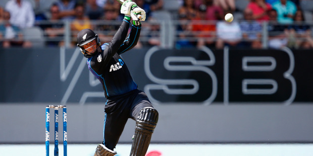 Martin Guptill is set to be hot property in the IPL auction. Photo / Getty