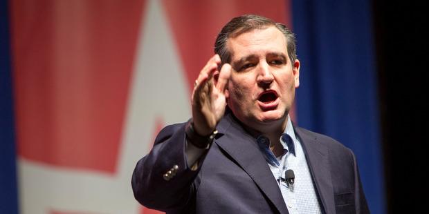 Republican presidential candidate Sen. Ted Cruz. Photo / AP