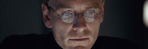 Michael Fassbender stars as Steve Jobs in a scene from the film, Steve Jobs.