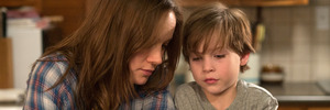 Brie Larson and Jacob Tremblay appear in a scene from the film, Room. Photo / AP