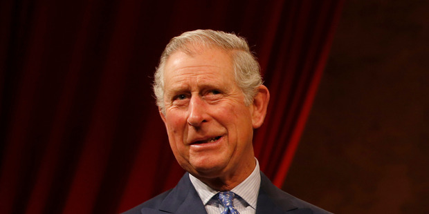 Prince Charles' latest series of three lithographs, each with a run of 100, were released in 2014. Photo / AP