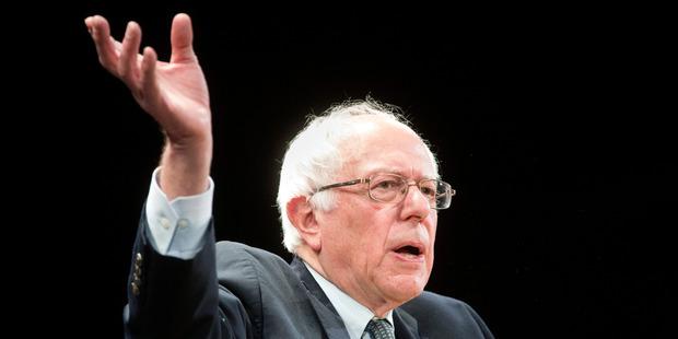 Bernie Sanders. Photo / AP