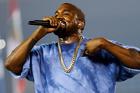 Rap star Kanye West. Photo / AP