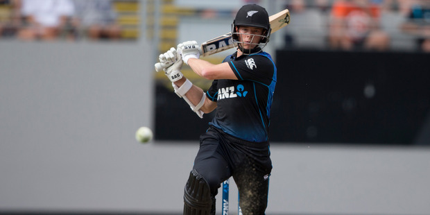 Mitchell Santner has shown a level head during his time with the Black Caps. Photo / Nick Reed
