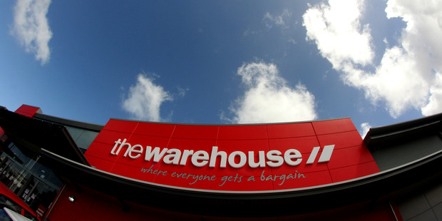 Warehouse Group was up 1.9 per cent to $2.72.  Photo / Dexter Murray