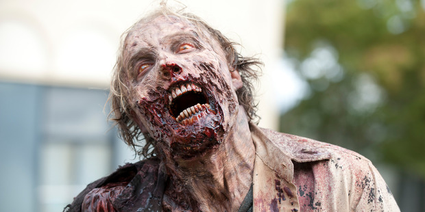 A seen from the TV show, The Walking Dead.