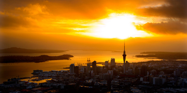 Auckland reaches its 176th anniversary on the verge of a substantial change. Photo / Brett Phibbs
