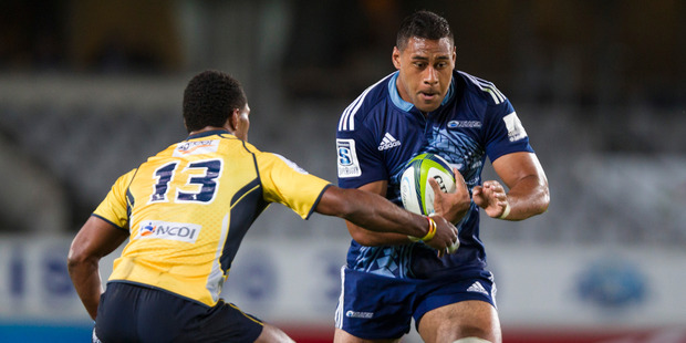Patrick Tuipulotu is battling his way back to full health for the Blues. Photo / Jason Oxenham