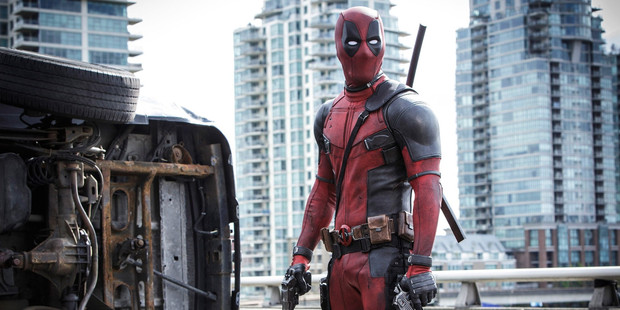 A scene from the movie Deadpool.