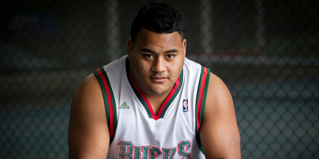 Taniela Tupou was a schoolboy rugby sensation in Auckland. Photo / Sarah Ivey