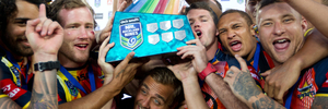 The North Queensland Cowboys won the inaugural Auckland Nines in 2014. Richard Robinson