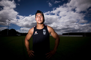 Roger Tuivasa-Sheck will make his maiden appearance this weekend. Photo / Dean Purcell