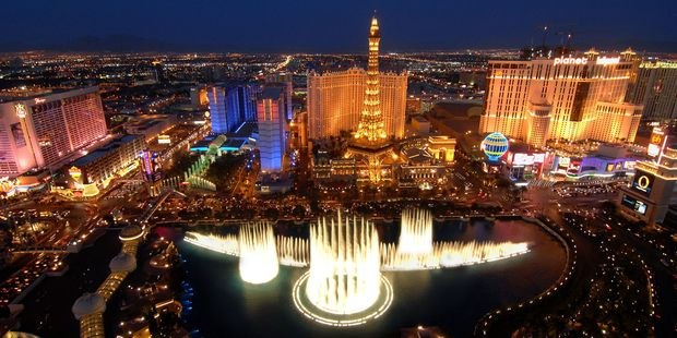 Skip the silly season and go to Vegas instead. Photo / Supplied