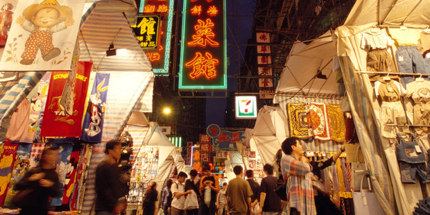 February is a great time to visit Hong Kong - especially for bargain hunters. Photo / Supplied