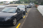 Parking on yellow lines is a safety hazard, writes a reader. Photo / Supplied