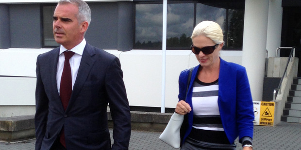 The casino company has lodged a complaint with police about Tessa Grant, 40, who this year pleaded guilty to defrauding Waikato Diocesan School for Girls out of $795,000. Photo / Belinda Feek