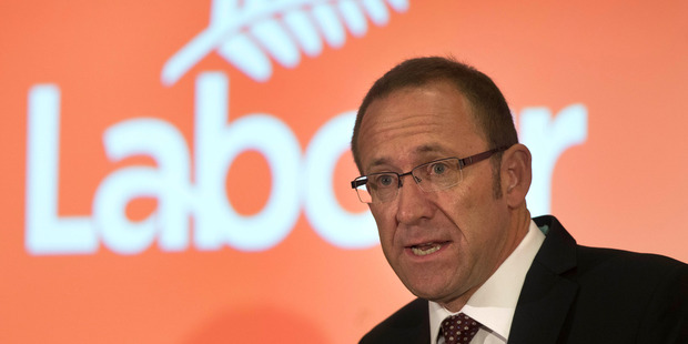 Loading Party leader Andrew Little revealed in a State of the Nation speech in Auckland yesterday it would provide three years of post-school study. Photo / Brett Phibbs