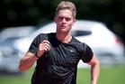 Tauranga's national sprint champion Kodi Harman was in action at Athletics Tauranga's club night on Tuesday.