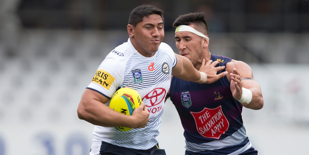 Jason Taumalolo will play his first game since last year's NRL grand final. Photo / Brett Phibbs
