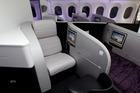 Air New Zealand Business Class seats. Photo / Brett Phibbs